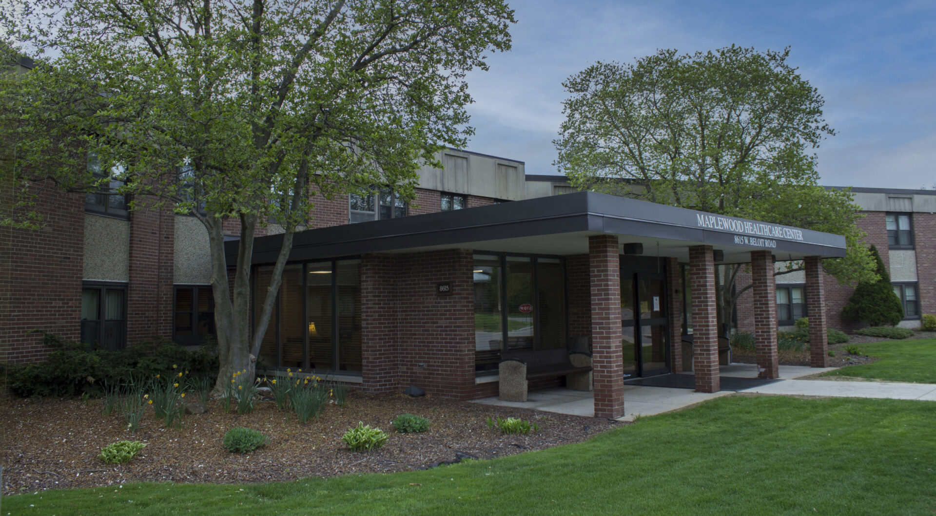 The outside of the skilled nursing facility at VMP Milwaukee.