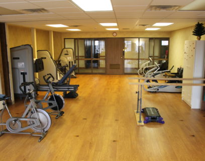 Inside the vmp milwaukee rehab center.