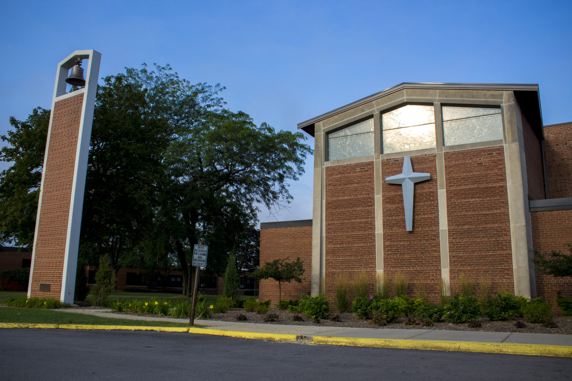 The outside of the VMP Milwaukee church.