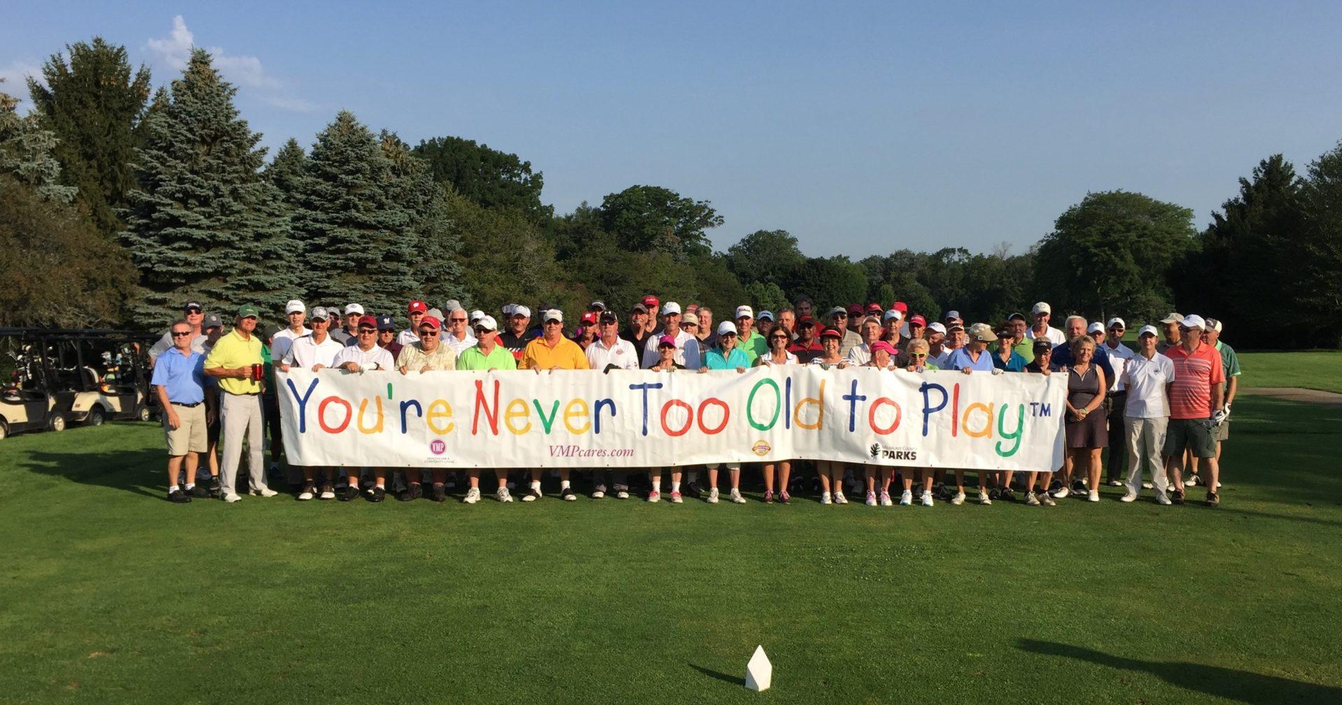 VMP Milwaukee golf outing group photo.
