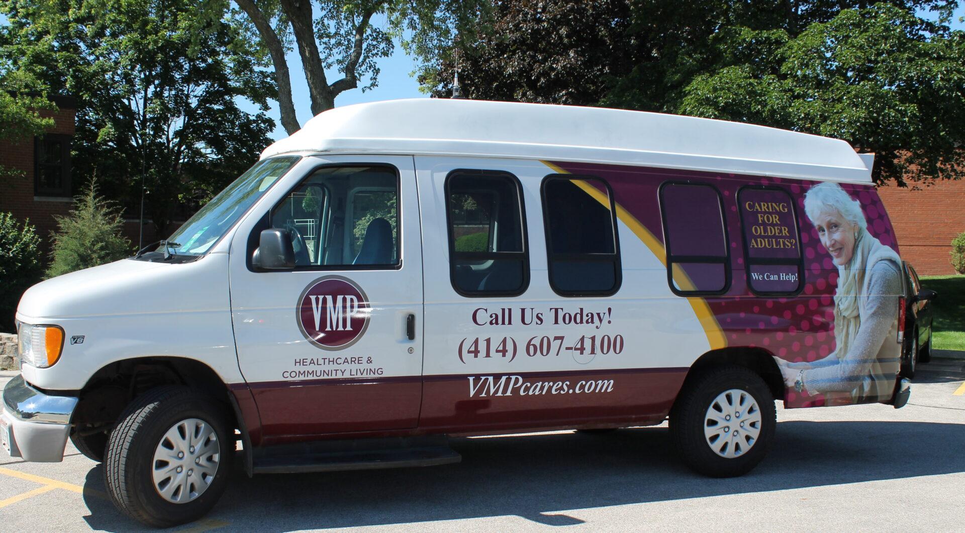 The VMP shuttle bus.