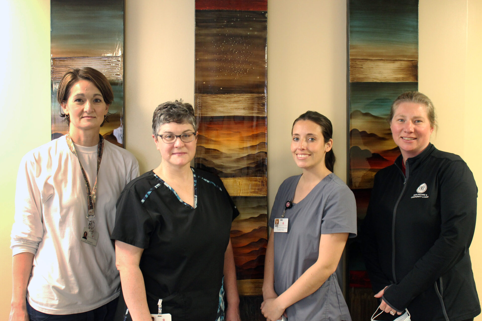 Occupational Therapy team at VMP.