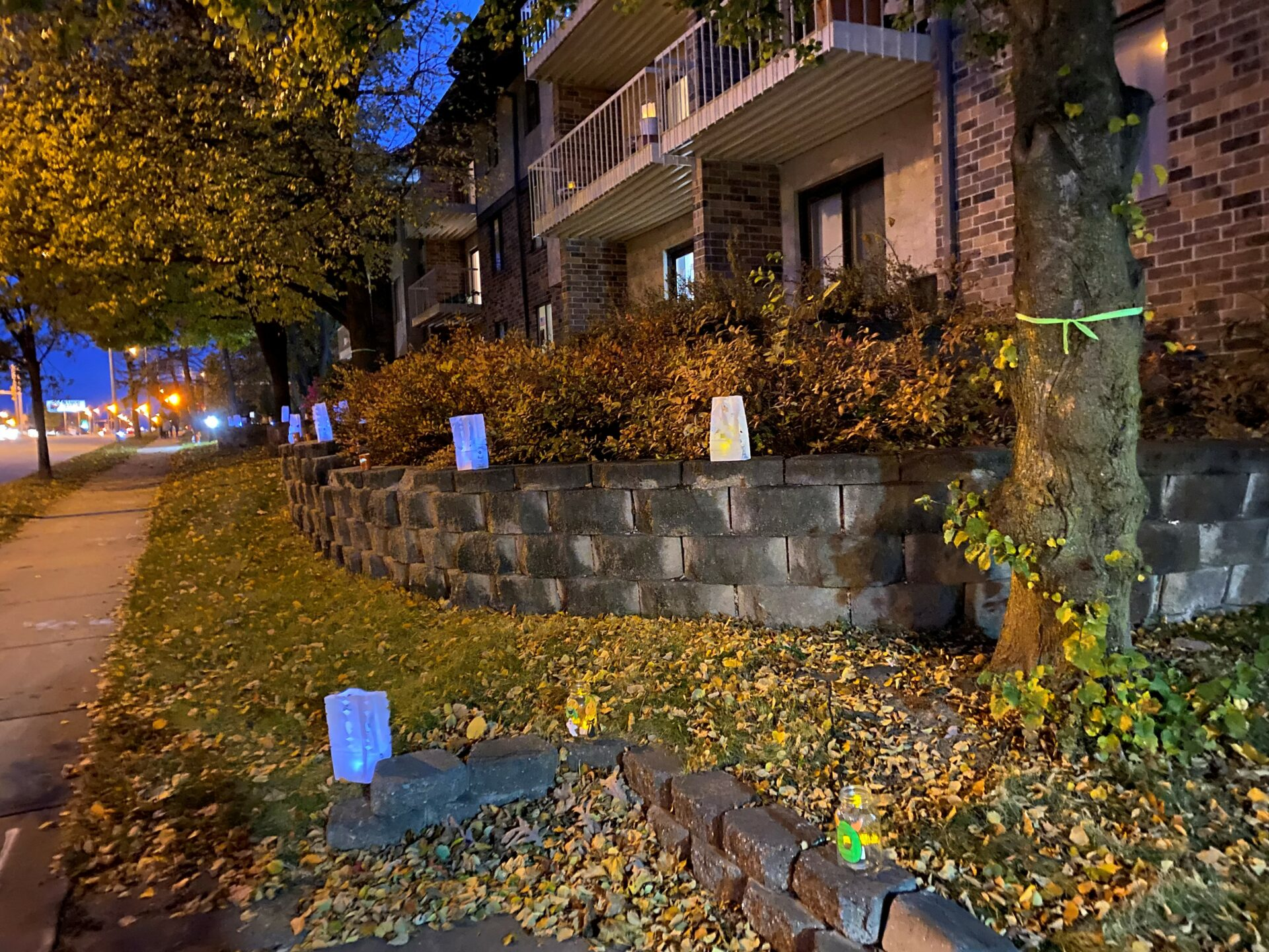Luminaries light a path at Be a Light celebration in Milwaukee Wisconsin